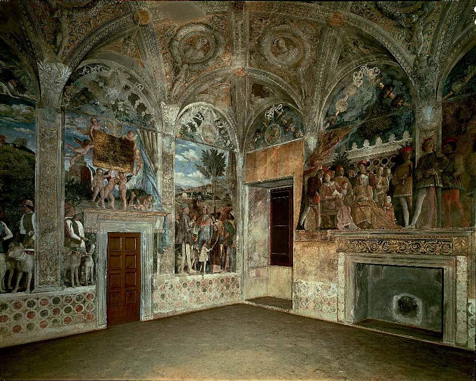Fonti iconografiche for Camera degli sposi a mantova