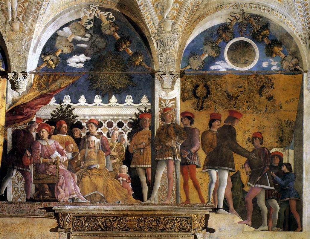 Fonti iconografiche for La camera degli sposi di andrea mantegna