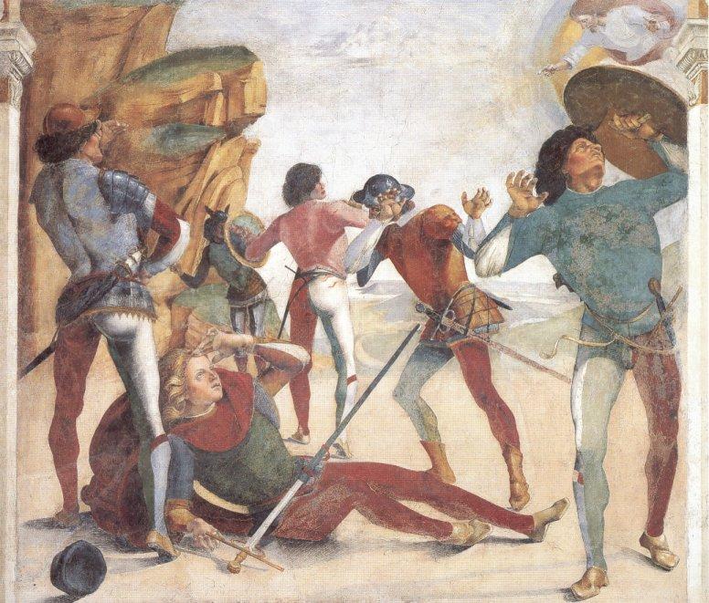 Luca da Cortona, detto anche Signorelli, Conversione di S. Paolo,  dans IMMAGINI (DI SAN PAOLO, DEI VIAGGI, ALTRE SUL TEMA) xv-2